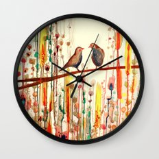 les gypsies Wall Clock
