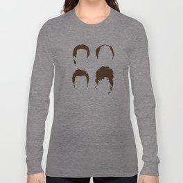 Seinfeld Hair Square Long Sleeve T-shirt