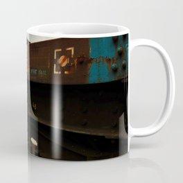 Abandoned Train in Train Yard Coffee Mug