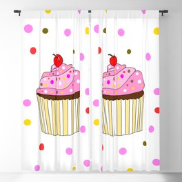 Everything Is Better With Sprinkes Blackout Curtain
