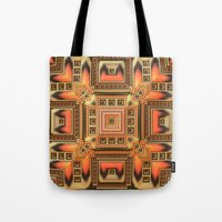 blanket Tote Bags featuring Cozy Blanket by Lyle Hatch