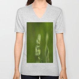 Green Plant Unisex V-Neck