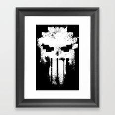 Space Punisher Framed Art Print