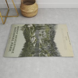 Mount Revelstoke National Park Rug