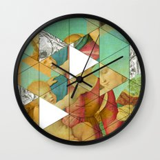 Raphael´s Mother&Child get mixed Wall Clock