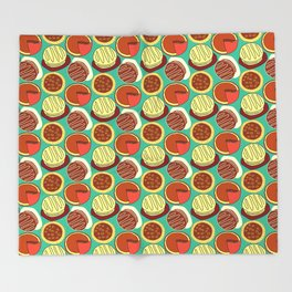 Cakes and Pies! Throw Blanket