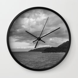 Haiti on the Horizon Wall Clock