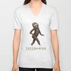 Sassquatch Unisex V-Neck