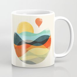 Let the world be your guide Coffee Mug