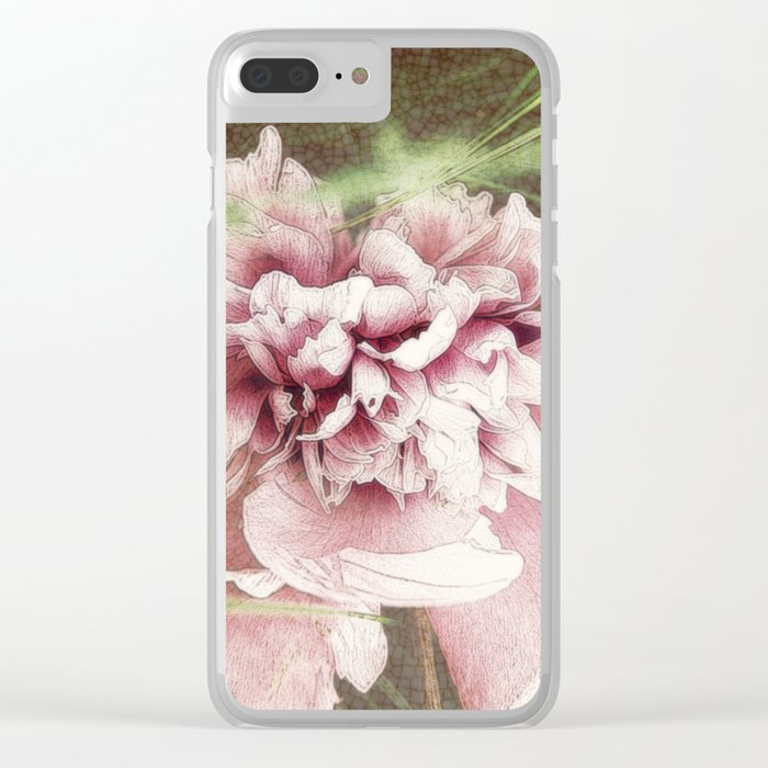 Sometimes I wish I was a bumblebee... Clear iPhone Case