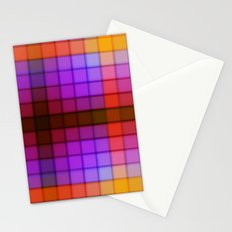 Tagged Autumn Plaid no21 Stationery Cards
