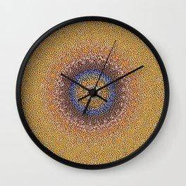 New Color Pyramidal Mandala 50 Wall Clock