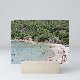 Thai Beach Day Mini Art Print