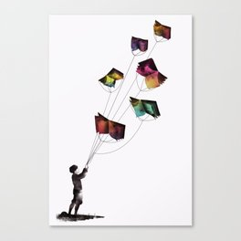 Fear and Loathing in the Meadows Canvas Print