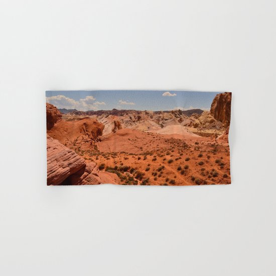 Red Valley II Hand & Bath Towel