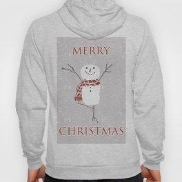 Snowman yoga - the tree Hoody
