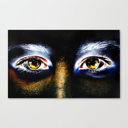 Fire Eyed Canvas Print