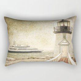 Brant Light Nantucket Rectangular Pillow