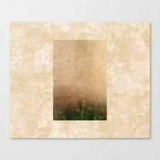 Rising green Canvas Print
