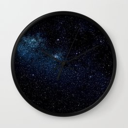 Star and Galaxy Wall Clock