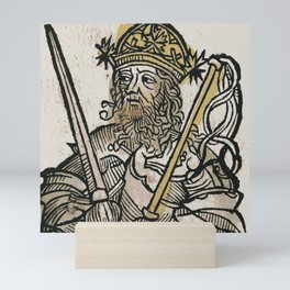 Atilla, King of the Huns Mini Art Print