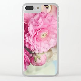 ranunculus Clear iPhone Case
