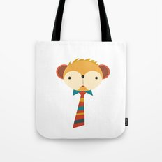 Business Monkey Tote Bag