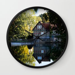 Former lock keeper's house Wall Clock