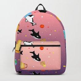 Deep Sea Space Pink/Purple Backpack