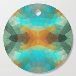 """Safari mood"" triangles design Cutting Board"