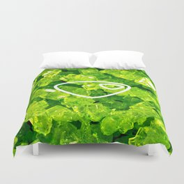 Peridot Candy Gem Duvet Cover