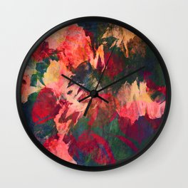 It's Complicated, Abstract Leaves Wall Clock