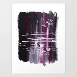 Cherry Merlot Art Print