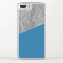 Geometry 101 Saltwater Taffy Teal Clear iPhone Case