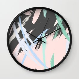 Expression stroke Wall Clock