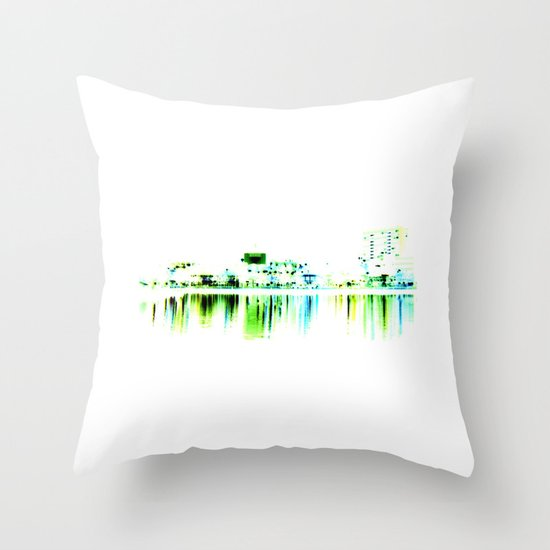 white harbor II. Throw Pillow