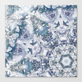 Blue Willow Canvas Print