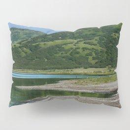 Green Mountain Photography Print Pillow Sham