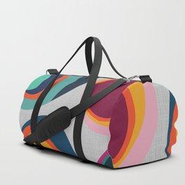 Rainbow Resin Duffle Bag