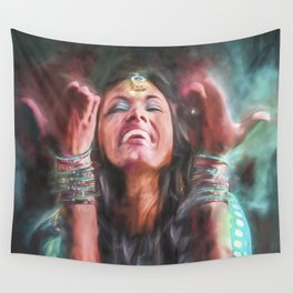 Dancer in Motion Wall Tapestry