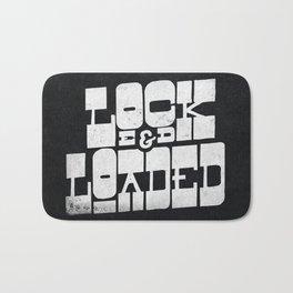 Locked & Loaded Bath Mat