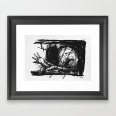 Medicine Man Framed Art Print