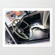 Take the Wheel Art Print