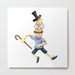 Mr Poopybutthole Metal Print