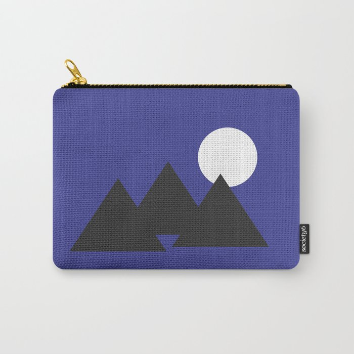 Giza Geometrical Minimal Carry-All Pouch