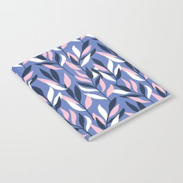 Graphic Leaves Notebook