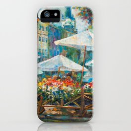 Lviv city center iPhone Case