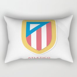 Atletico Madrid FC Design Rectangular Pillow