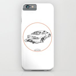 Crazy Car Art 0205 iPhone Case