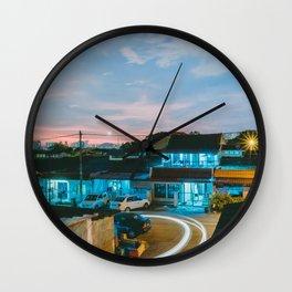 Lovely Suburb, Kuala Lumpur, Malaysia Wall Clock